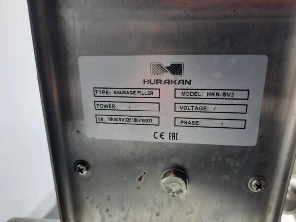 Купить Шприц колбасный Hurakan HKN-ISV3