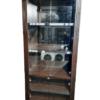 Купить Прилавок 100/50/222 торговый дсп дверцы стекло цвет венге