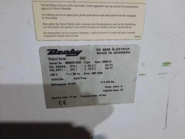 Купить Ларь морозильный Derby EK 60
