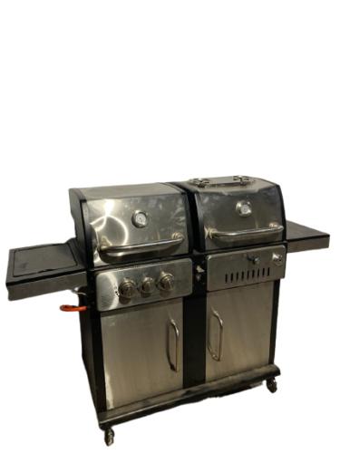 Купить Гриль Tarrington House Vulcano ZH3001-SB комбинированный угольный/газовый