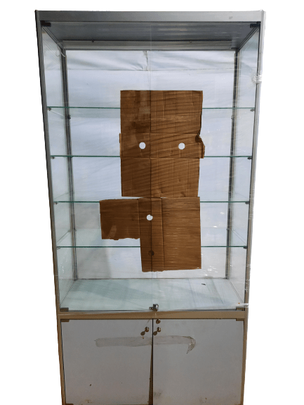 Купить Прилавок 100/40/200 торговый нейтральный стекло металл
