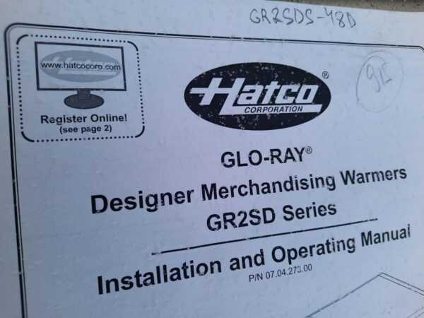 Купить Тепловая витрина Hatco gr2sds-48d