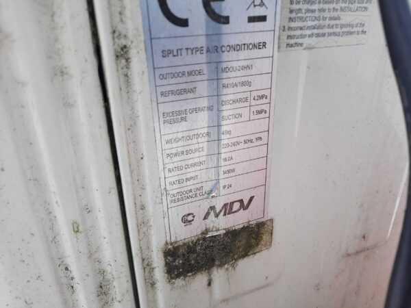 Купить Кондиционер MDCC-24HRN1/MDOU-24HN1 кассетный