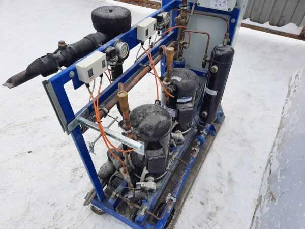 Купить ЦХМ на базе Copeland ZB58/ZBD76 2 компрессора