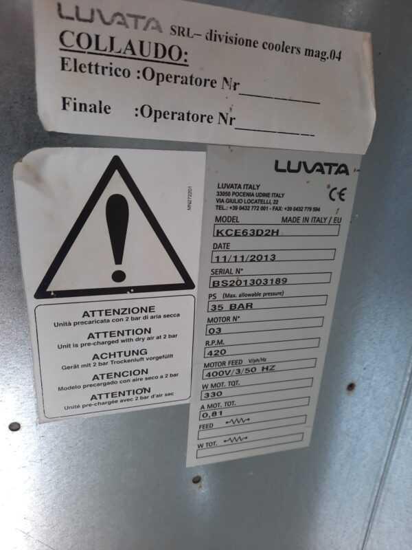 Купить Конденсатор Luvata KCE 63D2H