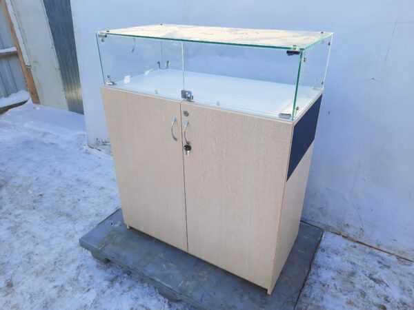 Купить Прилавок 90/47/87 торговый дсп стекло