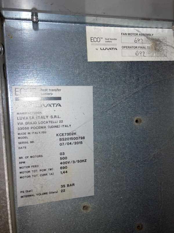 Купить Конденсатор Luvata KCE73D2H