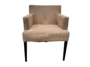 Купить Кресло коричневое ткань