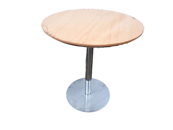 Купить Стол для кафе д 66 высота 75 дсп крышка круглая