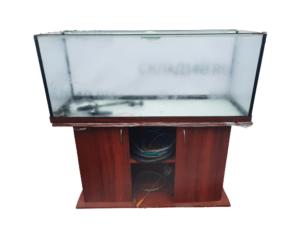 Купить Аквариум 120/40/50 для рыбы с подставкой