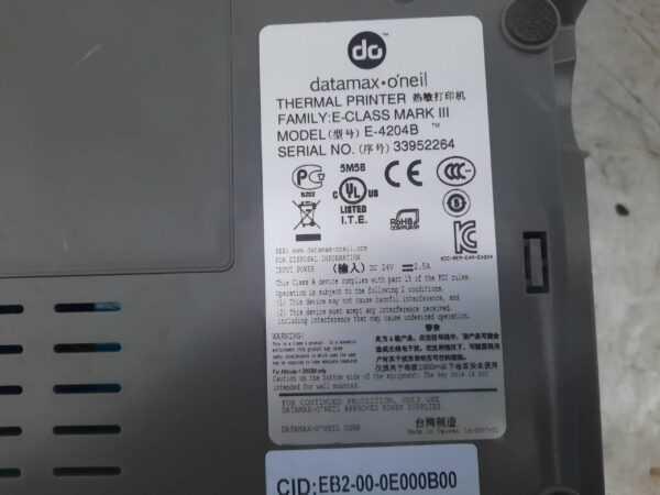 Купить Принтер Datamax Mark III E-4204B