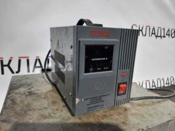 Купить Стабилизатор Ресанта АСН 500/1-Ц