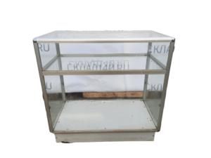 Купить Прилавок кассовый 90/50/85 метал стекло
