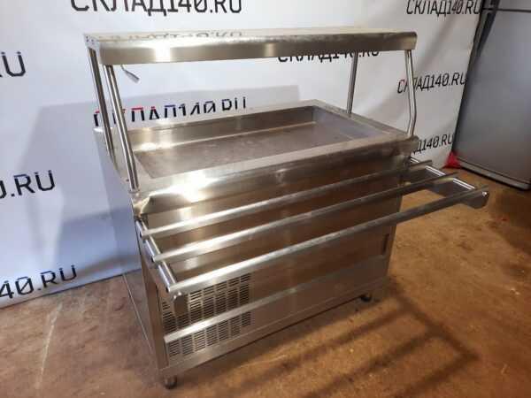 Купить Прилавок Abat ПВВ(Н)-70КМ-02 НШ холодильный