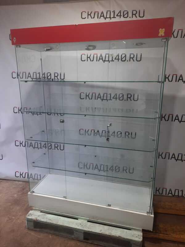 Купить Стойка витрина стекло 135/48/184