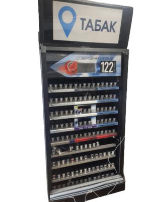 Купить Сигаретный шкаф диспенсер 135 позиций 106/45/220