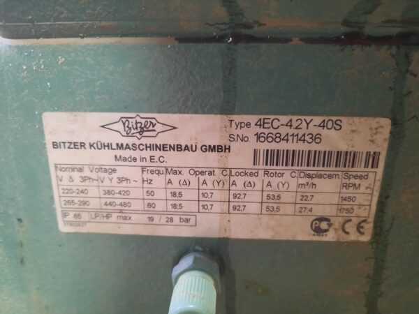 Купить Холодильный агрегат Bitzer 4EC-4.2Y-40S
