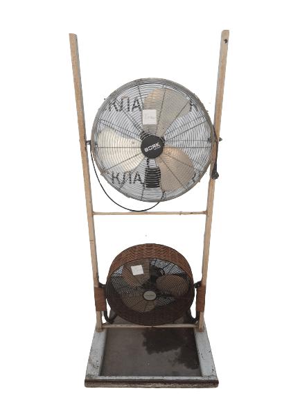 Купить Стойка с двумя вентиляторами
