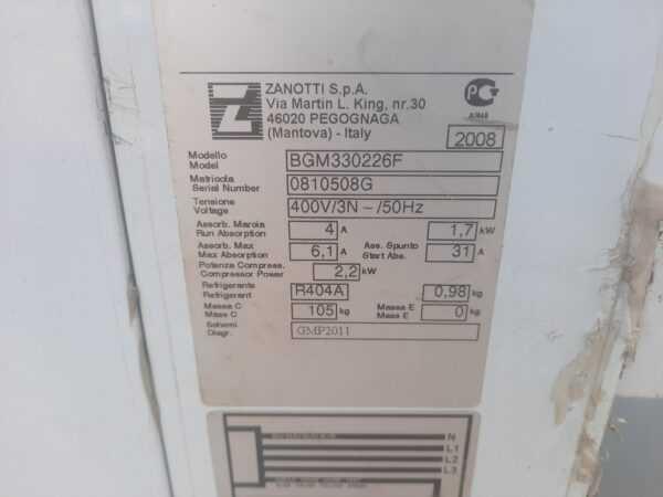 Купить Моноблок низкотемпературный Zanotti BGM 330