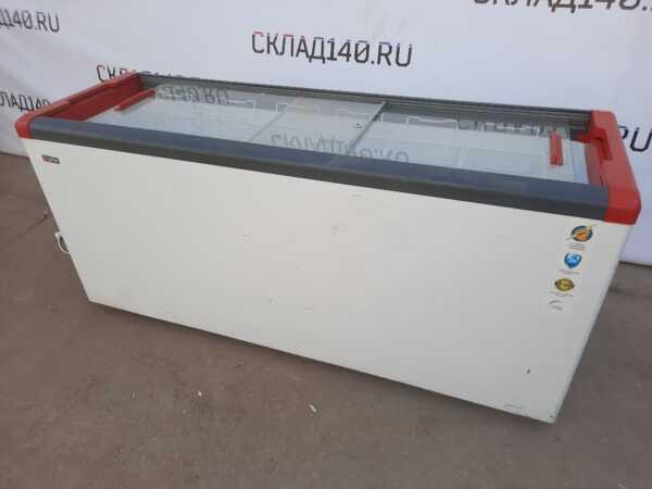 Купить Ларь Gellar FG 700 C серый морозильный