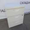 Купить Тумба белая с 3 ящиками 41/50/57