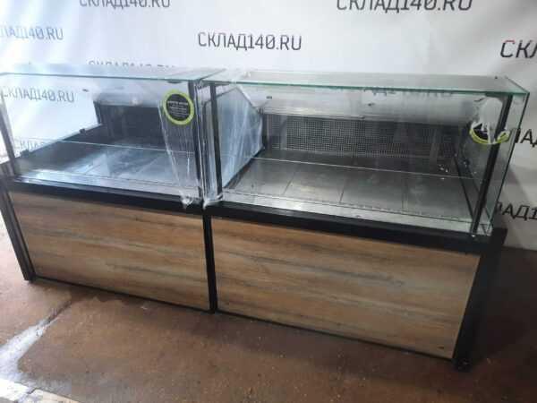 Купить Витрина Carboma Полюс 2 ВХС 1.25 холодильное