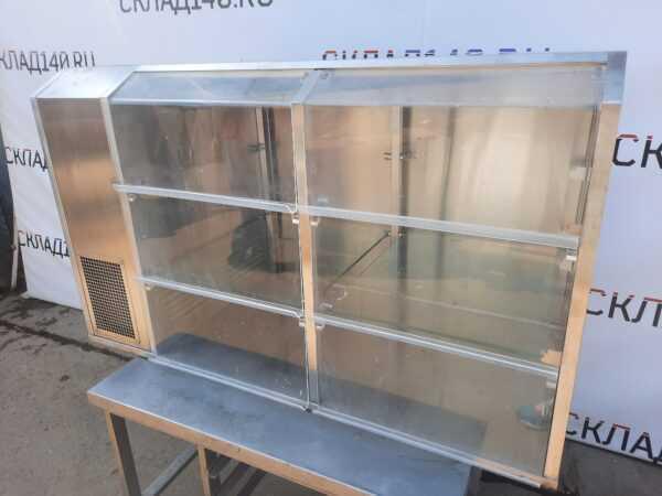 Купить Прилавок витрина Abat 130/60/80 холодильная