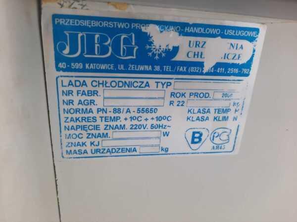 Купить Витрина JBG LSG 1.7 -5+5 холодильная
