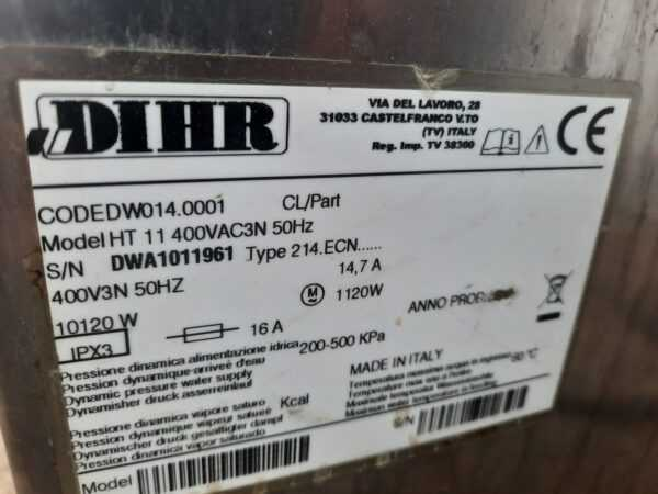 Купить Купольная машина Dihr HT 11 ECO DDE