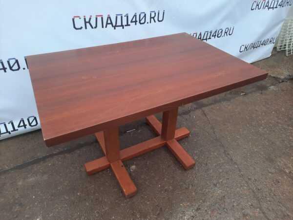 Купить Стол для кафе дерево коричневый 120/80/75