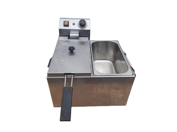 Купить Фритюрница Gastrorag fryer4+4L (одна секция + ванна)