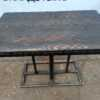 Купить Стол для кафе дерево массив нога черная сталь 100/60/75