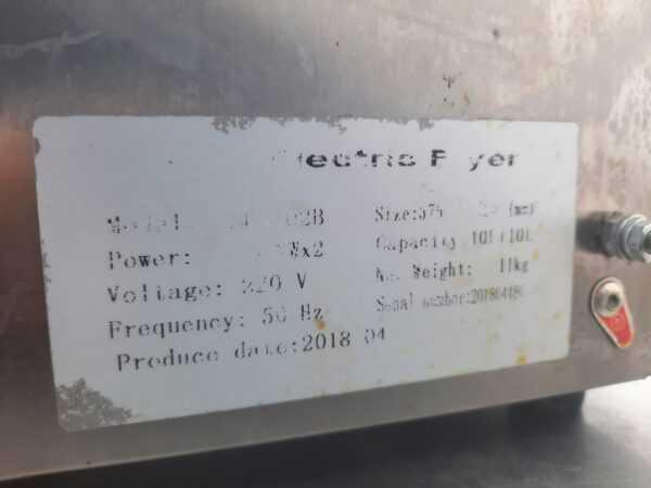 Купить Фритюрница Ergo EF-102T/B