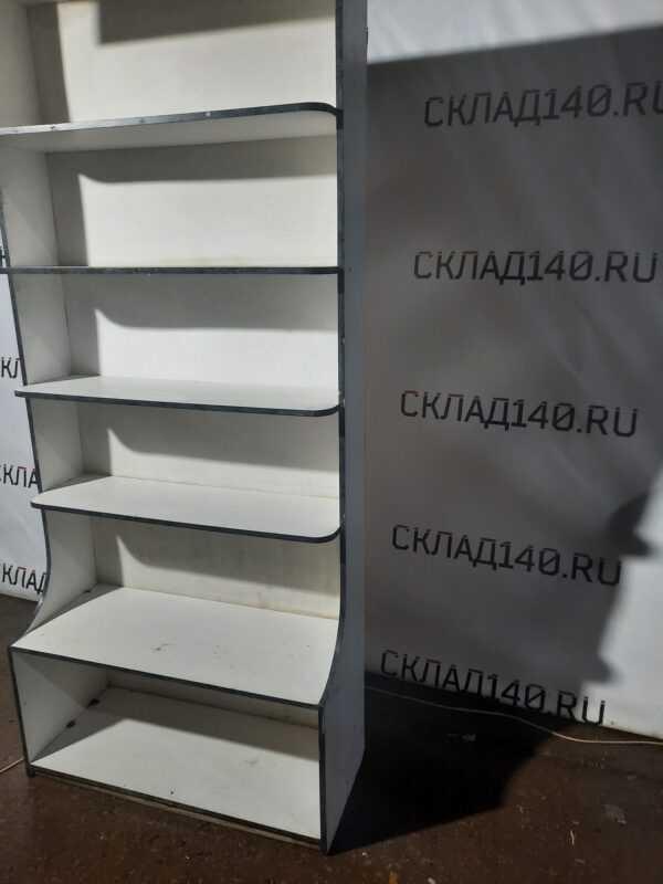 Купить Стеллаж лдсп белый 5 полок 100/41/210