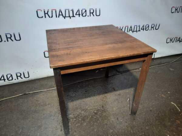 Купить Стол дерево массив светлый 75/75/73